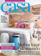 capa Casa & Construção - revista assinar assinatura assine