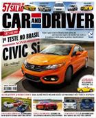 capa Car and Driver - revista assinar assinatura assine