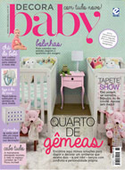 capa Decora Baby - revista assinar assinatura assine