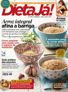 capa Dieta Já - revista assinar assinatura assine