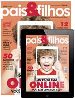 capa Pais e Filhos - revista assinar assinatura assine