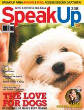 capa Speak Up - revista assinar assinatura assine