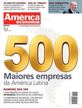 capa AméricaEconomia - revista assinar assinatura assine